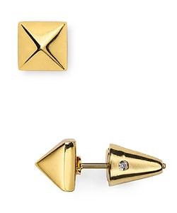 Eddie Borgo | Pyramid Stud Earrings