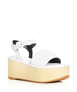 Robert Clergerie   Flap Platform Sandals