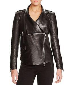 Barbara Bui | Shawl Lapel Leather Jacket