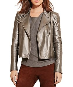 Ralph Lauren | Lauren Leather Moto Jacket