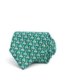 Salvatore Ferragamo | Macro Elephant Classic Tie