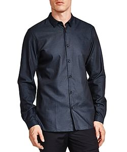 The Kooples | Easy Dots Slim Fit Button-Down Shirt