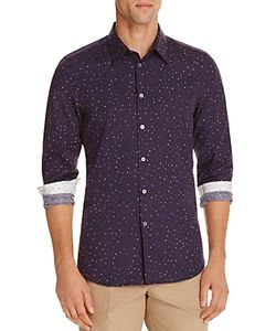 PS Paul Smith | Polka Dot Slim Fit Button-Down Shirt