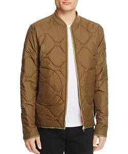 Ovadia & Sons | Reversible Quilted Bomber Jacket
