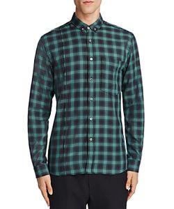 Public School | Rector Plaid Slim Fit Button-Down Shirt
