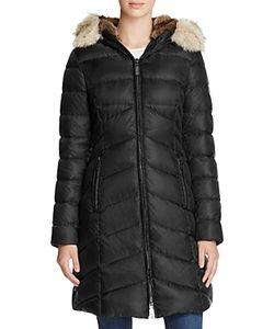 Dawn Levy | Fur Trim Daphne Down Coat