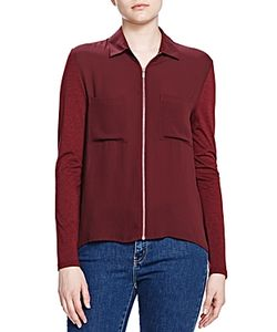 The Kooples   Zip Front Shirt