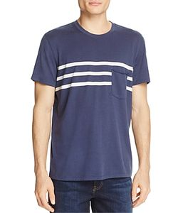 7 For All Mankind | Stripe-Detail Pocket Tee