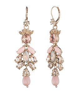 Marchesa | Cluster Drop Earrings