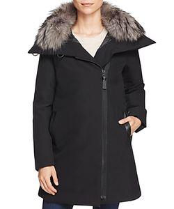Derek Lam 10 Crosby | Fur Collar A-Line Parka