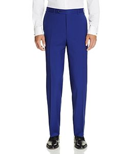 Canali   Classic Fit Travel Trousers