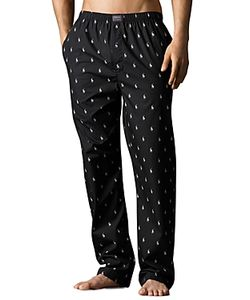 Polo Ralph Lauren   Pony Print Woven Pajama Pants