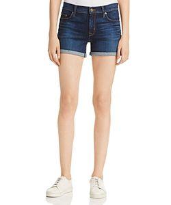 Hudson | Mid Rise Cuffed Shorts In