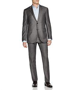 Corneliani | Sharkskin Regular Fit Suit