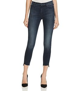 Mother   Stunner Step Ankle Fray Jeans In A Trip Down Memory
