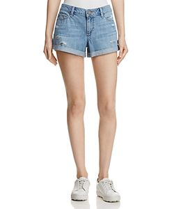 Paige | Jimmy Jimmy Distressed Denim Shorts 100 Exclusive