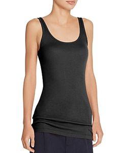 Vince | Ribbed Scoop Neck Tank