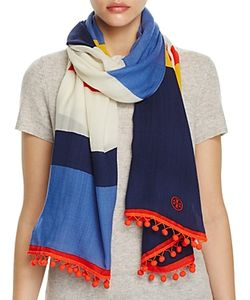 Tory Burch | Jamaican Stripe Oblong Scarf