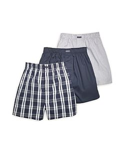 Calvin Klein | Classics Woven Boxers Pack Of 3
