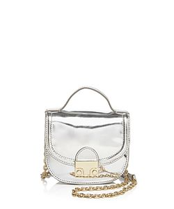 Loeffler Randall | Mini Mirror Saddle Bag