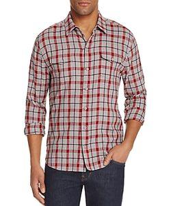 Paige | Everett Plaid Flannel Regular Fit Button-Down Shirt
