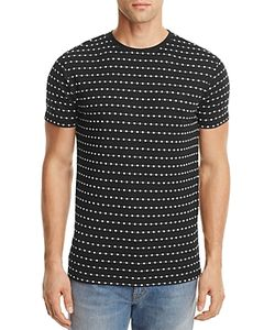 Soulland | Fernell Embroidered Pattern Tee