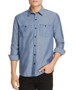 Michael Bastian | Chambray Regular Fit Button-Down Shirt