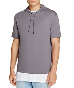 Hugo   Develand Short Sleeve Hoodie Sweatshirt 100 Exclusive