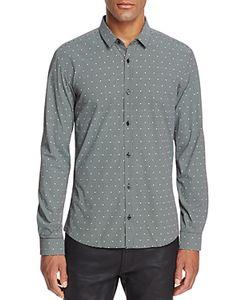 Hugo   Ero Skull Check Slim Fit Button-Down Shirt