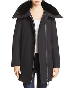 Derek Lam 10 Crosby | Fox Fur Trim Down Parka