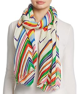 Tory Burch | Stripe Oblong Scarf