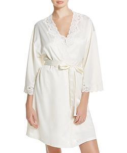 Ralph Lauren | Signature Collection Satin Wrap Robe