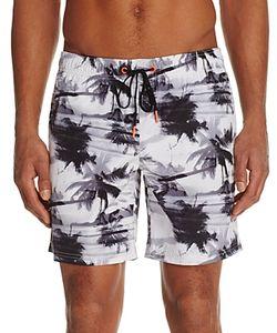 Sundek | Palm Tree Print Swim Trunks