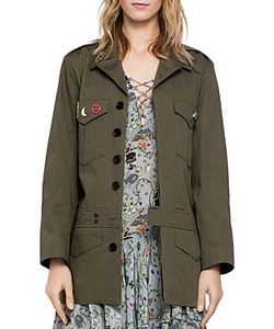 Zadig & Voltaire | Kalena Military-Style Jacket