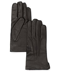 The Men's Store At Bloomingdale's | Cashmere Lined Leather Gloves