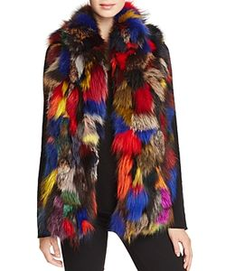 Jocelyn   Multicolo Fur Vest