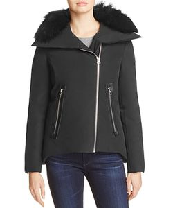 Derek Lam 10 Crosby | Fox Fur Trim Short Down Anorak