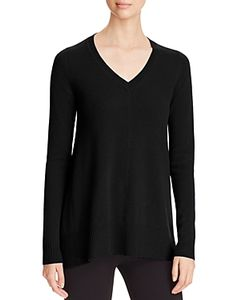 C By Bloomingdale's | Arched Hem Sweater 100 Exclusive