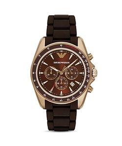 Emporio Armani | Chronograph Link Bracelet Watch 44mm
