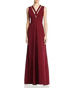 Jill Jill Stuart   Sleeveless Crisscross Gown