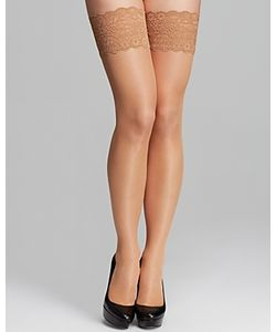Wolford | Satin Touch Stay Ups Tights