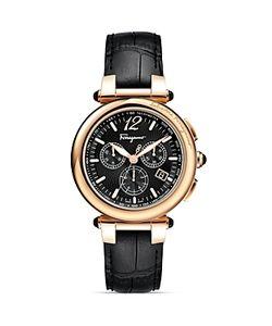 Salvatore Ferragamo | Idillio Ion-Plated Chronograph Watch 41mm