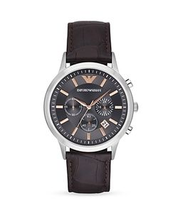 Emporio Armani | Renato Chronograph Watch 43mm