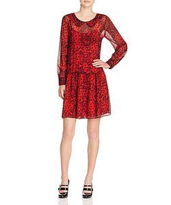 Boutique Moschino | Silk Heart Print Dress