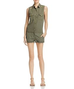 The Kooples   Embroidered Romper