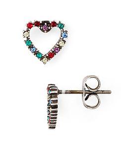 Marc Jacobs | Open Heart Rainbow Stud Earrings