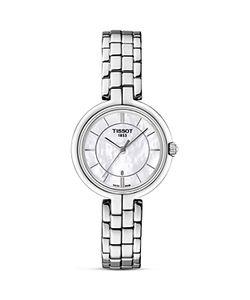 Tissot   Flamingo Quartz Watch With Mother Of Pearl Dial 26mm