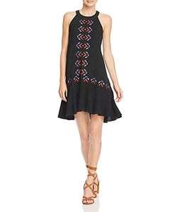 Piper | Embroidered T-Back Dress
