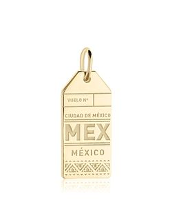 Jet Set Candy | Mex Mexico City Luggage Tag Charm