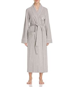 Ralph Lauren | Long Shawl Collar Quilted Trim Robe